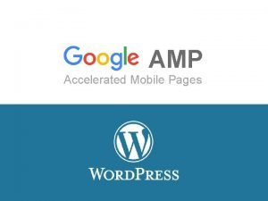 AMP Accelerated Mobile Pages Qu es AMP Instantneo