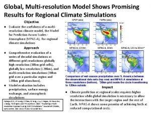Global Multiresolution Model Shows Promising Results for Regional