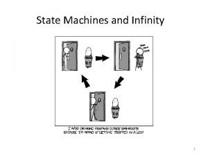 State Machines and Infinity 1 State diagrams state