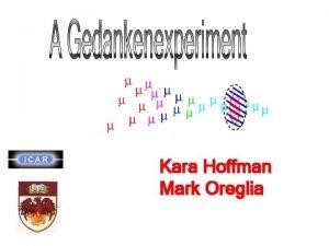 Kara Hoffman Mark Oreglia A promising bolometric material