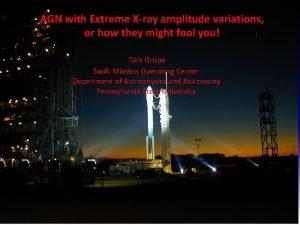 AGN with Extreme Xray amplitude variations GammaRay Bursts