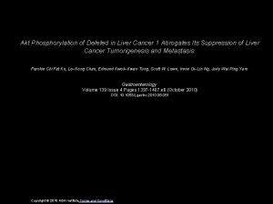 Akt Phosphorylation of Deleted in Liver Cancer 1