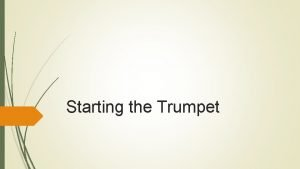 Starting the Trumpet Recordings https www youtube comwatch