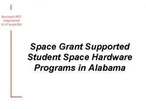 Space Grant Supported Student Space Hardware Programs in