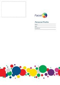 Personal Profile Name Date Practitioner Personal Profile Facet