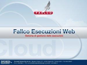 Fallco Esecuzioni Web Introduzione Fallco Esecuzioni Web nativo