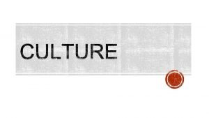 Have you ever experienced culture shock Explain the