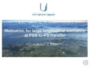 Motivation for large longitudinal emittance at PSBtoPS transfer