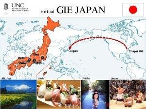 Virtual GIE JAPAN Japan Kyoto Osaka Mt Fuji