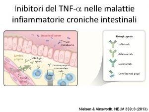 Inibitori del TNFa nelle malattie infiammatorie croniche intestinali