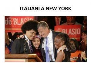 ITALIANI A NEW YORK FAMIGLIA ITALIANA A JERSEY