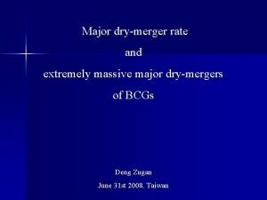 Major drymerger rate and extremely massive major drymergers