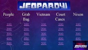 People Grab Bag Vietnam Court Cases Nixon 100
