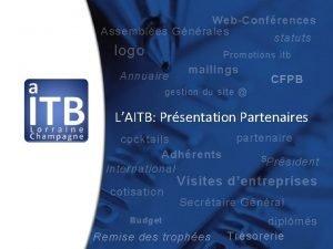 WebConfrences Assembles Gnrales statuts logo Promotions itb Annuaire
