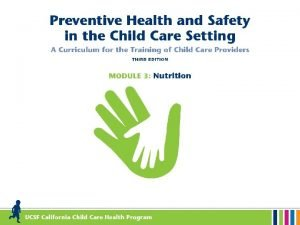 Why is good nutrition important for children Good
