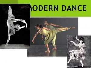 MODERN DANCE VIDEO PREVIEW After watching this VIDEO