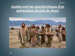 9252020 Quelles sont les caractristiques dun authentique disciple
