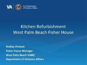 Kitchen Refurbishment West Palm Beach Fisher House Shelley
