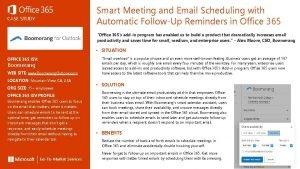 Smart Meeting and Email Scheduling with Automatic FollowUp