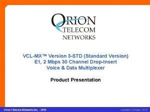 VCLMX Version 3 STD Standard Version VCLMX Version