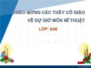 CHO MNG CC THY C GIO V D