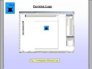 Envision Logo Fig 1 Development of Envision Logo
