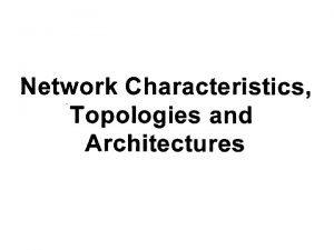 Introduction LAN WAN MAN Characteristics LAN Topologies Ring