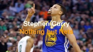 Stephen Curry Nothing but Nets Who he is