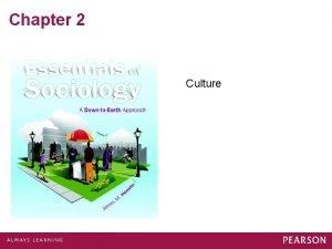 Chapter 2 Culture What is Culture Language Beliefs