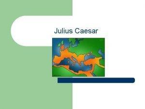 Julius Caesar Anticipation Guide l l l l