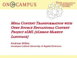 Mega Content Transformation with Open Source Educational Content