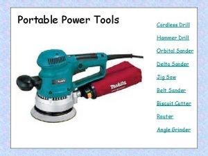 Portable Power Tools Cordless Drill Hammer Drill Orbital