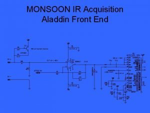 MONSOON IR Acquisition Aladdin Front End 2 500