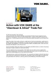 24 July 2015 Action with VOK DAMS at