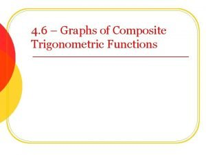 4 6 Graphs of Composite Trigonometric Functions Combining