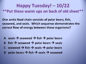 Happy Tuesday 1022 Put these warm ups on