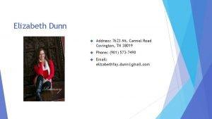 Elizabeth Dunn Address 7623 Mt Carmel Road Covington