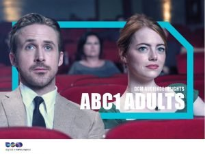 DCM AUDIENCE INSIGHTS ABC 1 ADULTS ABC 1