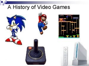 A History of Video Games Interesting Facts n