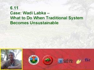 6 11 Case Wadi Labka What to Do