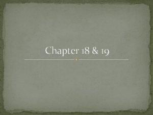 Chapter 18 19 Eastern Europe Eastern Europe in