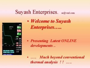 Suyash Enterprises sevsnl com Welcome to Suyash Enterprises