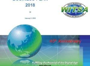 BUSINESS PLAN 2018 V 6 January 9 2018