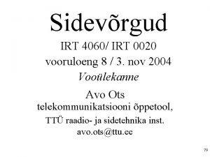 Sidevrgud IRT 4060 IRT 0020 vooruloeng 8 3