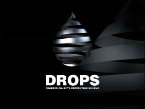 About DROPS Oil Gas Industry Workgroup focused 100