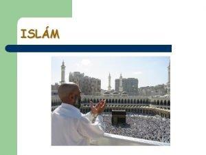 ISLM Vrazy kolem islmu l Slovo arabskho pvodu
