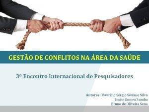 GESTO DE CONFLITOS NA REA DA SADE 3