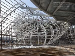 Spanish Pavilion for Shanghai Expo wins Future Project