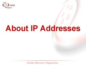 About IP Addresses On the Internet you are