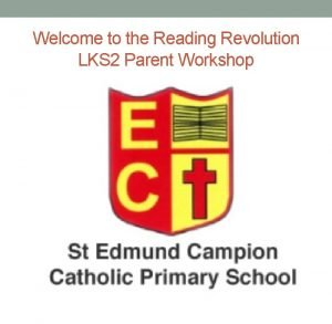 Welcome to the Reading Revolution LKS 2 Parent